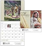Faithful Followers Spiral Wall Calendars
